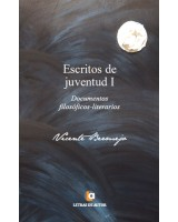 Escritos de juventud I - Vicente Bermejo
