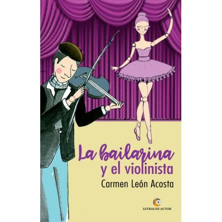 La bailarina y el violinista - María del Carmen León Acosta